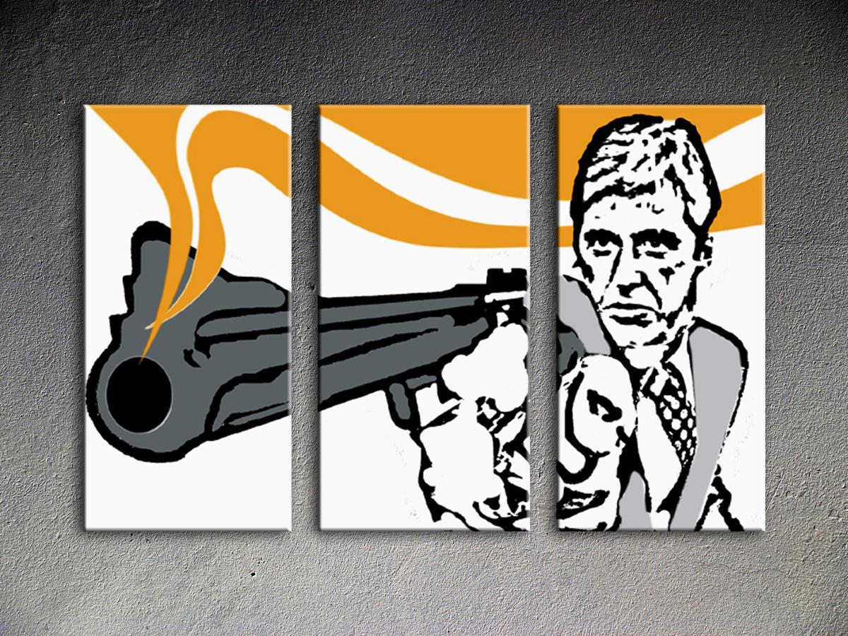 Popart schilderij Al Pacino 25