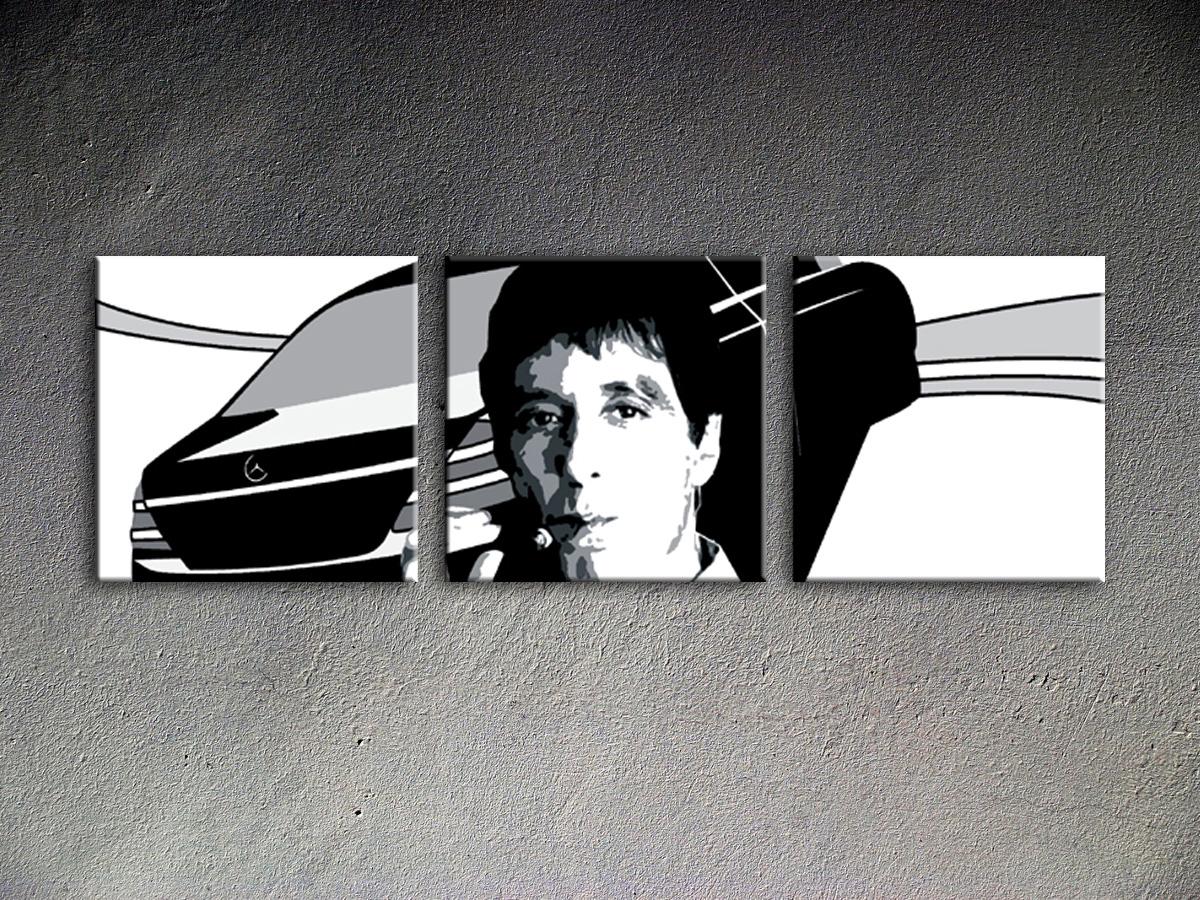 Popart schilderij Al Pacino