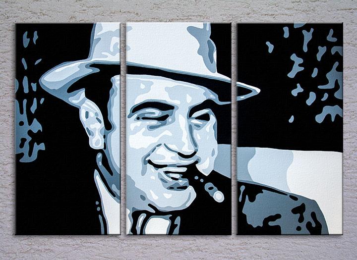 Popart schilderij Al Capone 1