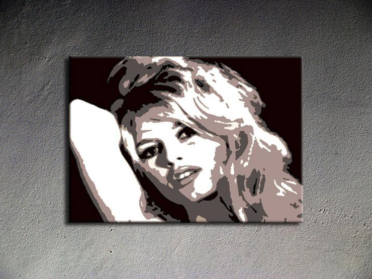 Popart schilderij Brigitte Bardot
