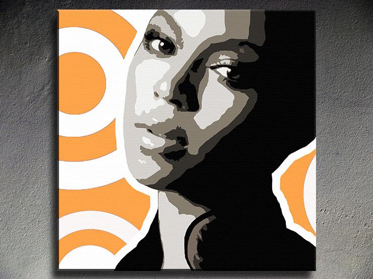 Popart schilderij Beyonce 4
