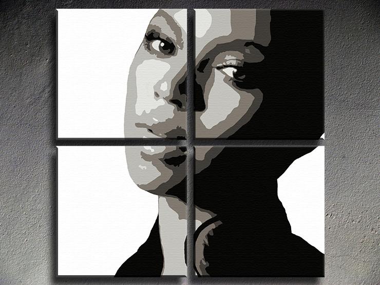Popart schilderij Beyonce
