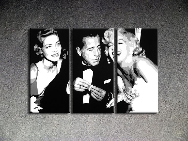 Popart schilderij Bogard