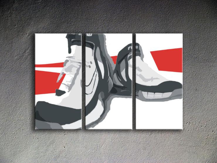Popart schilderij Boots