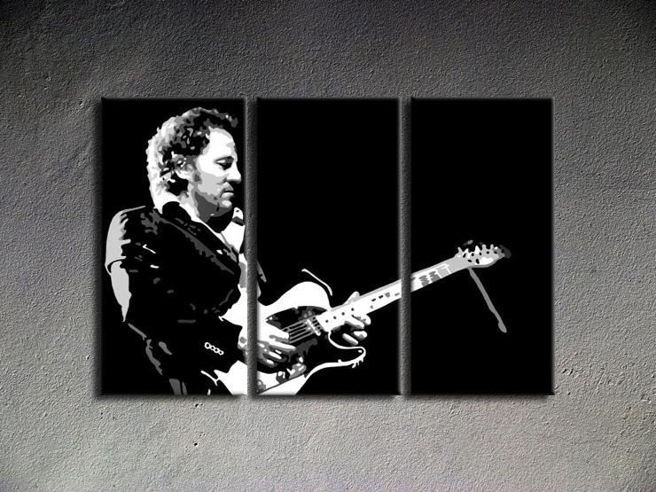 Popart schilderij Bruce Springsteen
