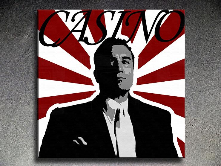 Popart schilderij Casino 1