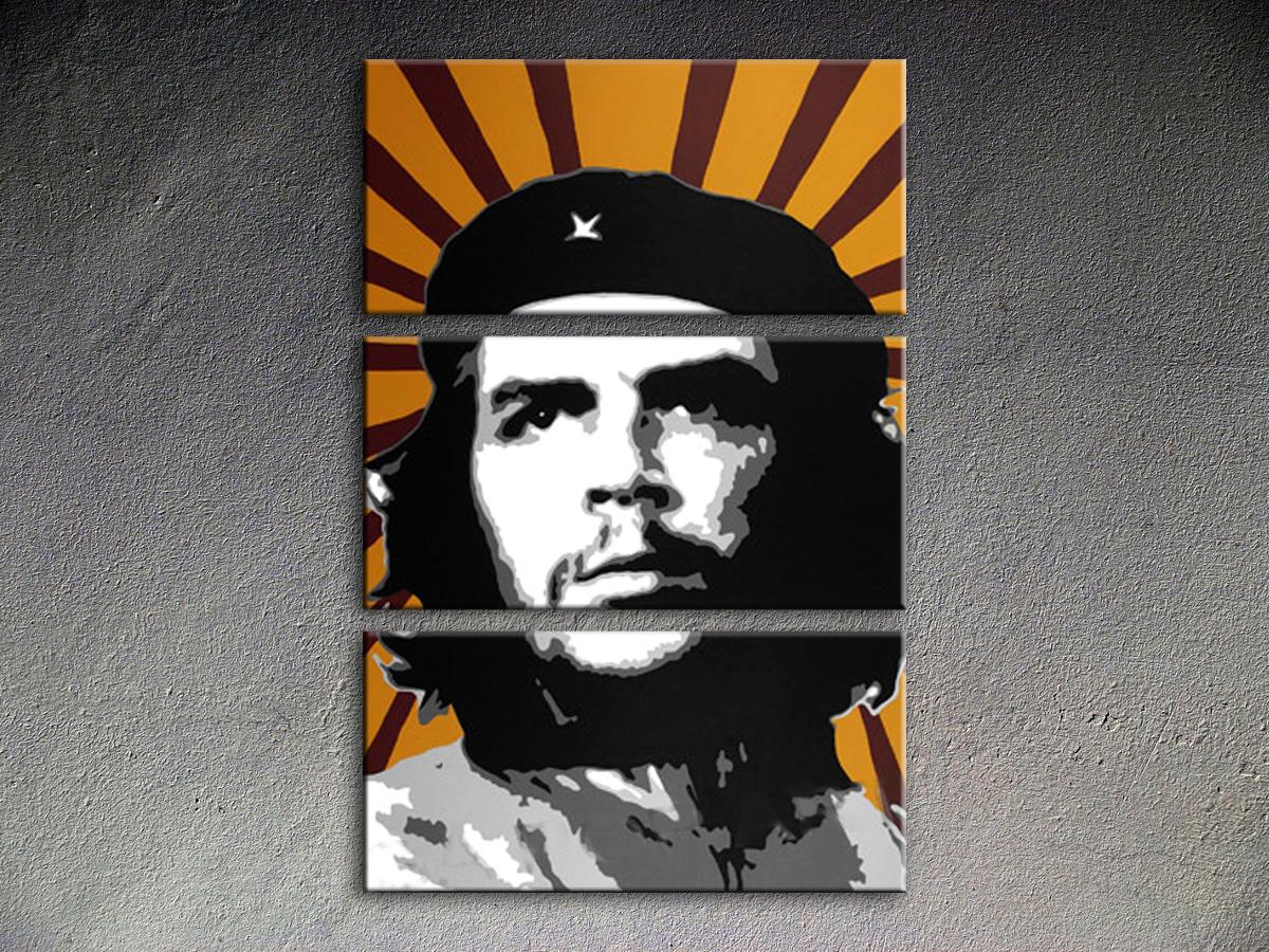 Popart schilderij Che Guevara