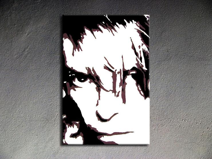 Popart schilderij David Bowie