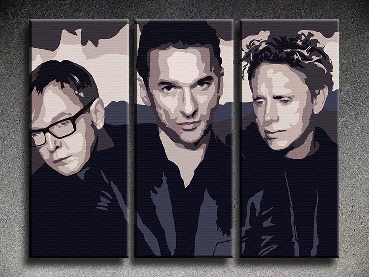 Popart schilderij Depeche Mode 4