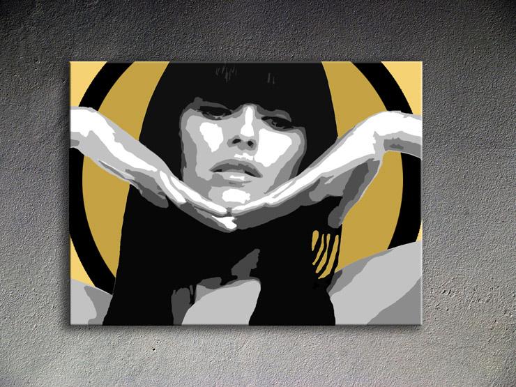 Popart schilderij Nely Furatdo