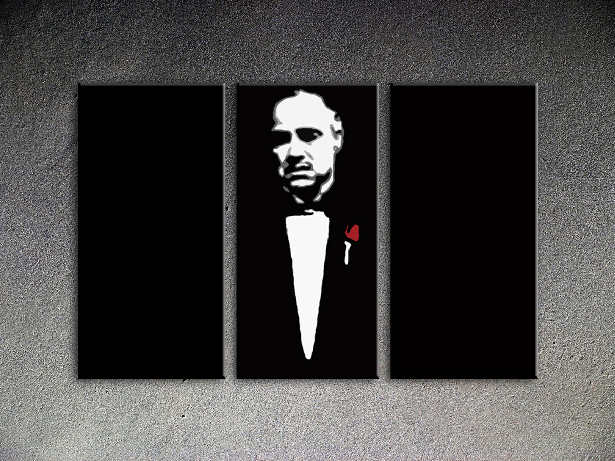 Popart schilderij Marlon Brando