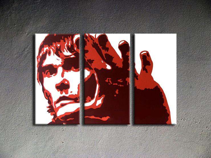 Popart schilderij Ian Brown 3