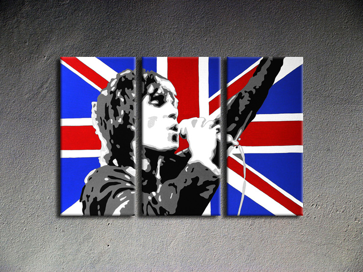 Popart schilderij Ian Brown 4