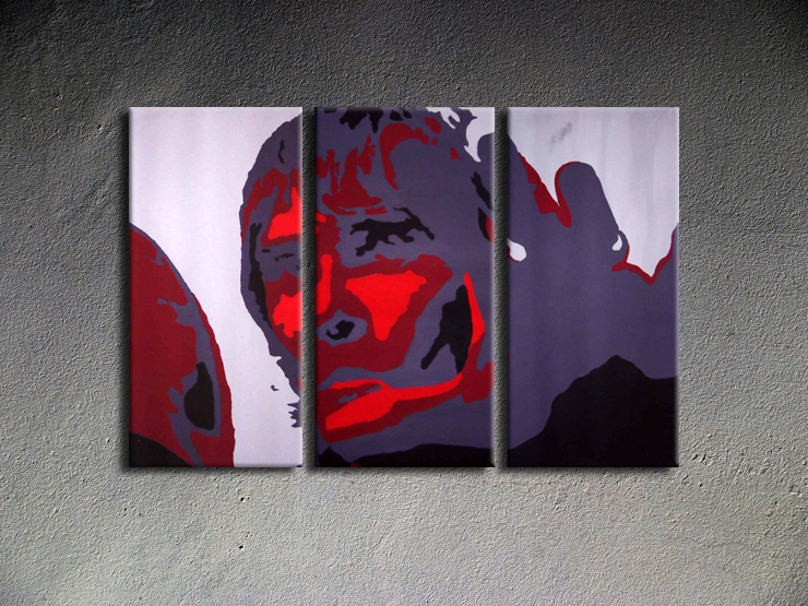 Popart schilderij Ian Brown 1