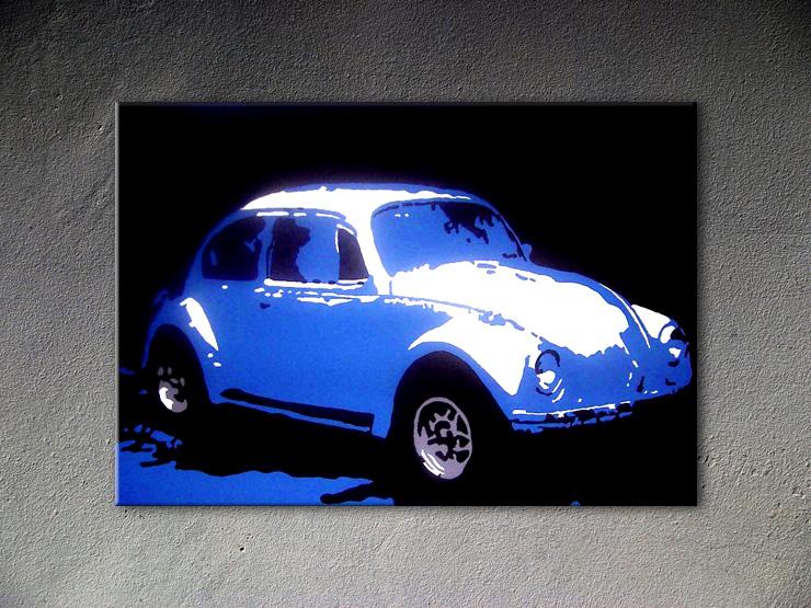 Popart schilderij Volkswagen Beetle