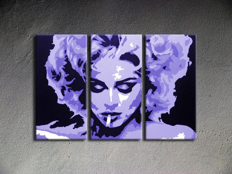 Popart schilderij Madonna