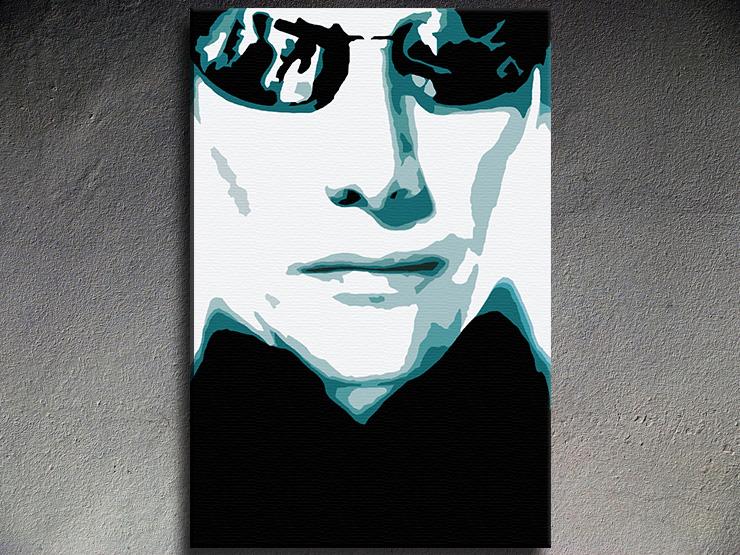 Popart schilderij Matrix 1