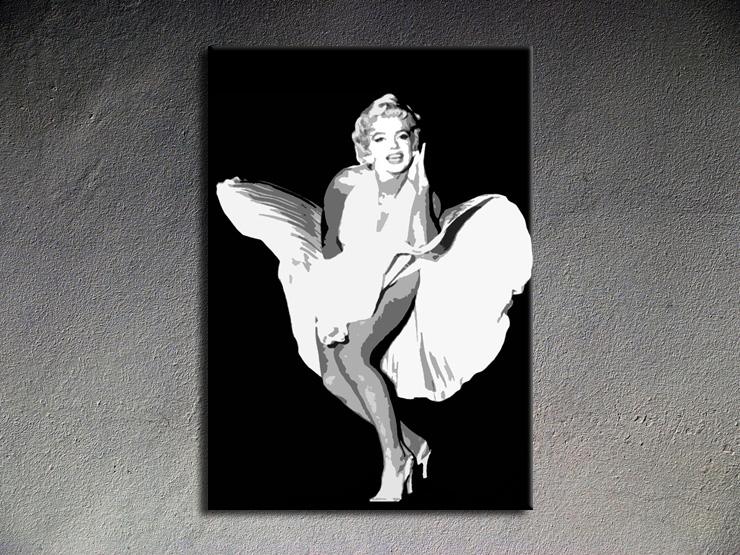 Popart schilderij Marilyn Monroe 3