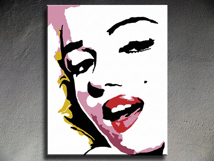 Popart schilderij Marilyn Monroe 4