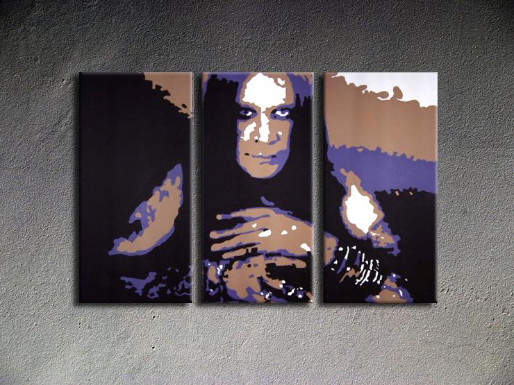 Popart schilderij Ozzy Osbourne