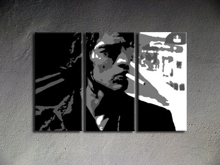 Popart schilderij Richard Ashcroft