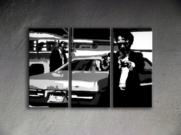 Popart schilderij Reservoir Dogs 2