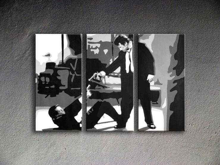 Popart schilderij Reservoir Dogs