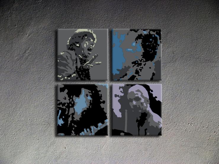 Popart schilderij Rolling Stones