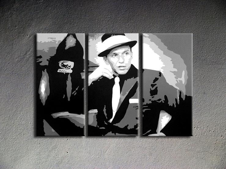Popart schilderij Frank Sinatra