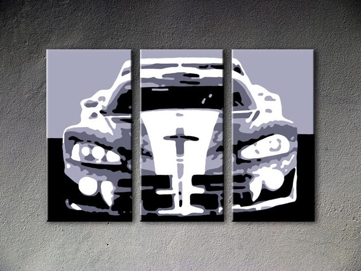 Popart schilderij Dodge Viper GTS