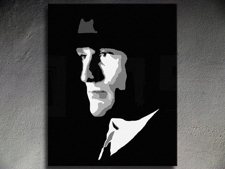 Popart schilderij Robert De Niro
