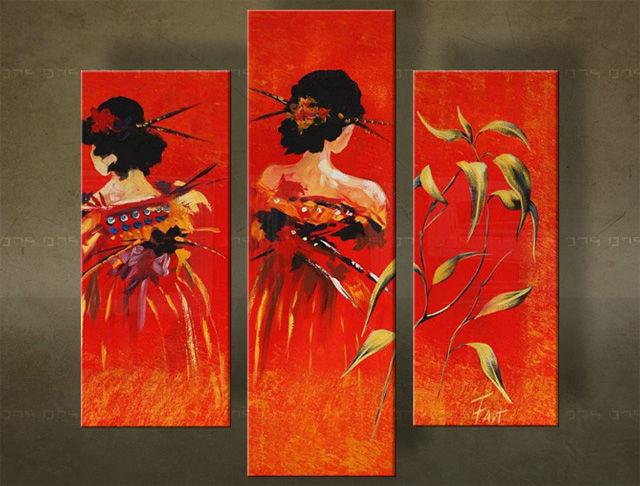 schilderij vrouwen kopen online internetwinkel